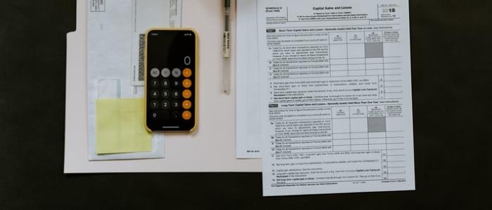 Calculatrice pour illustrer le budget