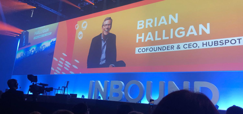 Brian Halligan Inbound2019