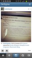Exemple d'un abus de hashtags sur Instagram