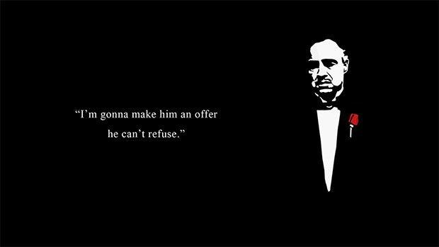 une offre que vous ne pourrez pas refuser!
