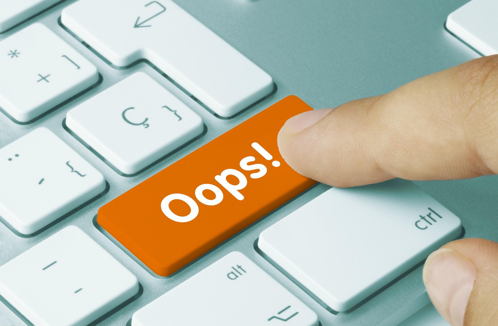 4 erreurs commises sur un site web sans stratégie